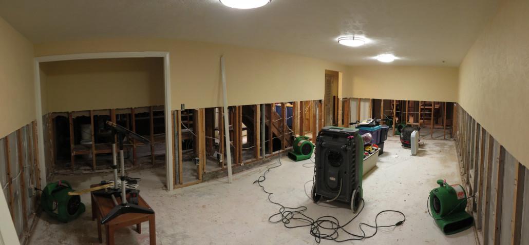 basement flood repair