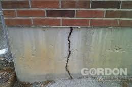 Exterior Foundation Crack