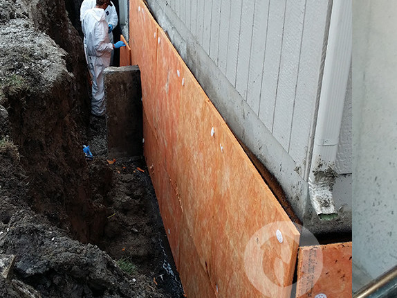 Foundation repair gardner ks gordon energy drainage for Sump pump yard drainage systems